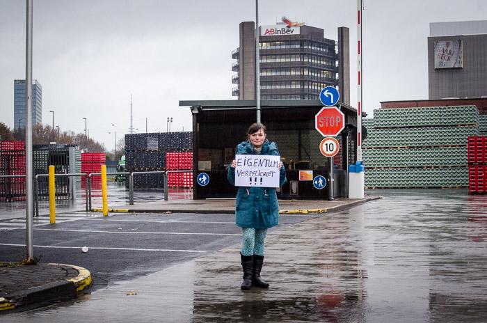 Eigentum verpflichtet. Protest bei Becks. Wendland MdBB